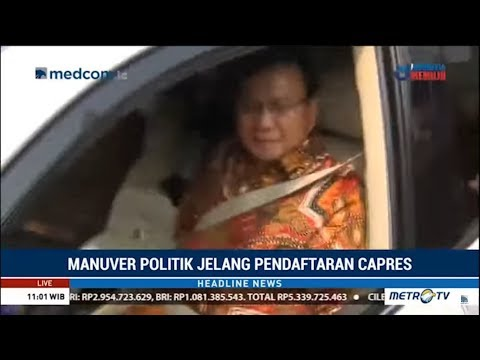 Pagi-Pagi Prabowo Subianto Sambangi Kediaman SBY Setelah Cuitan 'Jenderal Kardus'