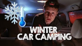 How To Winter Car Camp