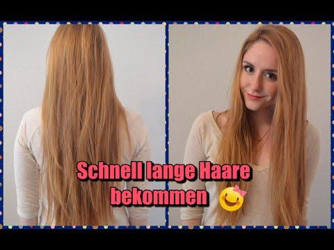 Haare lang kriegen