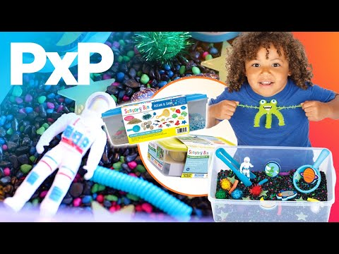 Creativity for Kids' Sensory Bins are all-inclusive fun! | A Toy Insider Play by Play