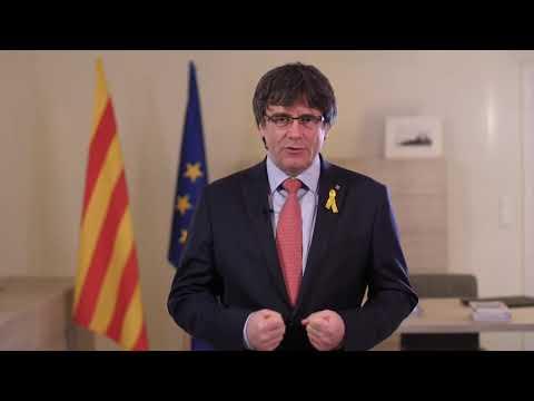 Missatge del President Carles Puigdemont