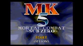 Mega Drive Longplay - MK5 Mortal Combat: Sub Zero