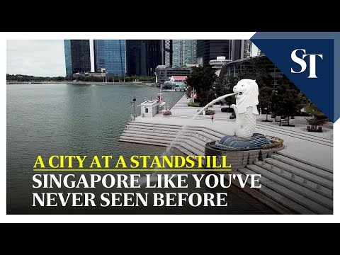 A city at a standstill: Singapore from above | The Straits Times