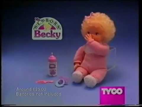 Advert My New Born Becky 1995 Youtube