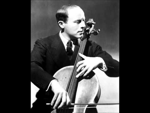 Haydn Cello Concerto in D Major (cellist: Emanuel Feuermann)