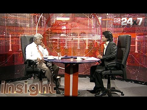 INSIGHT Episode 34 - Prof. Lal Dharmasiri (CHAIRMAN - CEA)