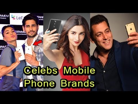 Bollywood Celebs and Their Mobile Phone Brand | 2018