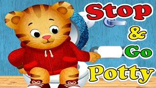 DANIEL TIGER's Stop & Go Potty App Full Gameplay | Daniel Tiger's Neighborhood Bathroom Routines