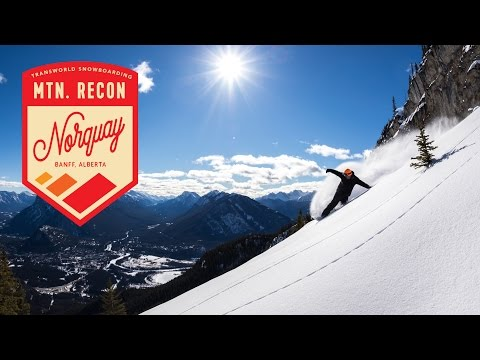 Mt. Norquay Resort — Travel Alberta : Mountain Recon Ep. 2 | TransWorld SNOWboarding