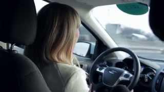 Рекламное видео.  Тест-драйв автомобиля Ford Kuga
