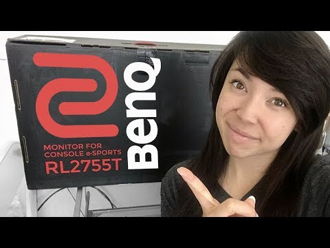 Unboxing My New Monitor From BENQ Zowie