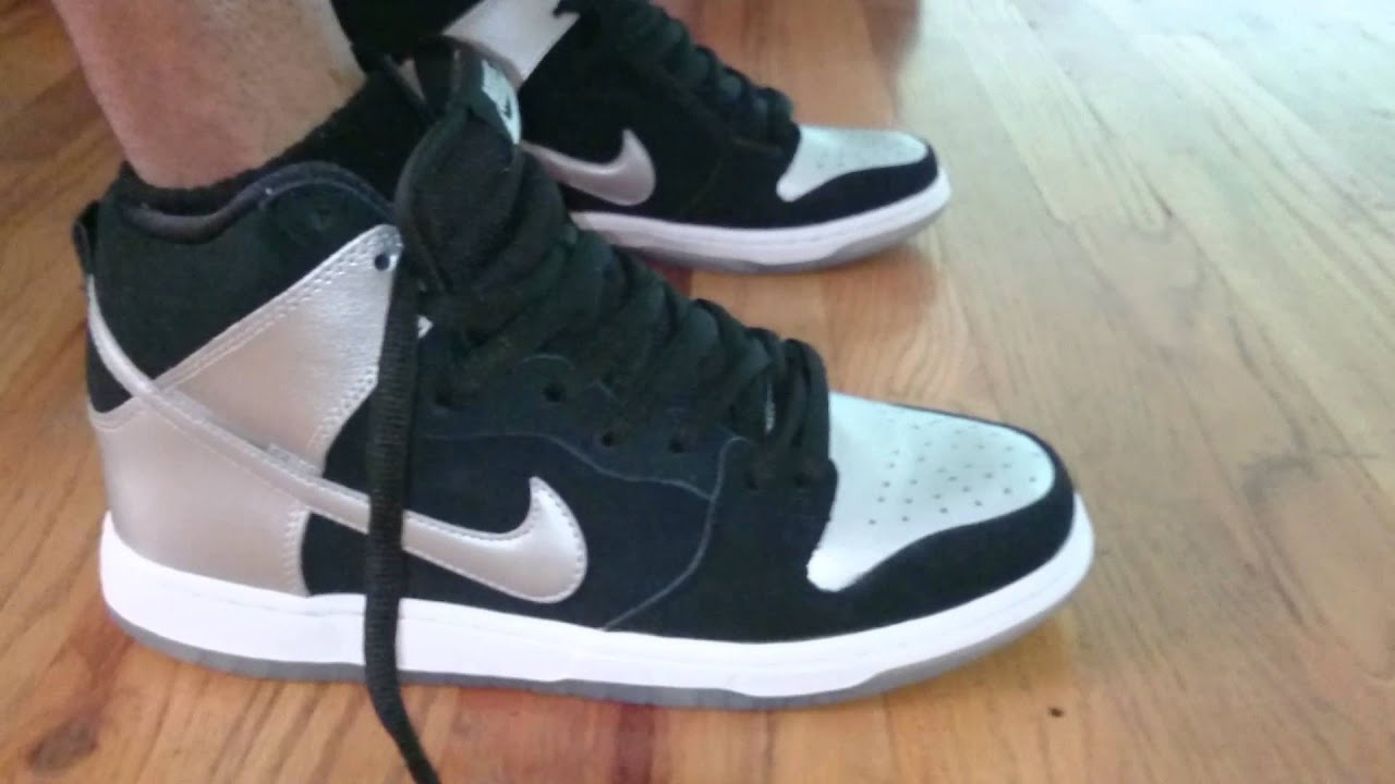 6446efcec05752 Nike sb dunk pro tin man on feet - YouTube