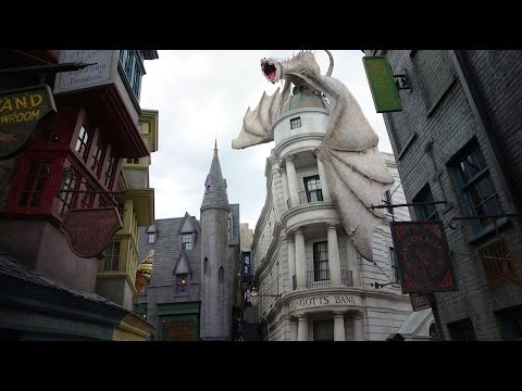 Diagon Alley Tour - The Wizarding World of Harry Potter - Un