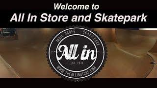 All In Action Sports - InDoor Skatepark - Zurich, Ontario