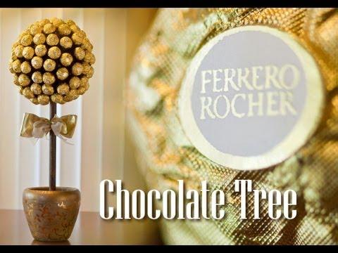 how-to-make-a-ferrero-rocher-chocolate-tree