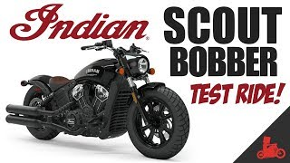 2019 Indian Scout Bobber Test Ride!