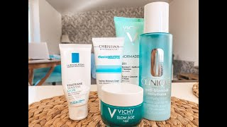 ТОП5 моих средств по уходу за кожей лица Vichy La Roche Posay Clinique Christina