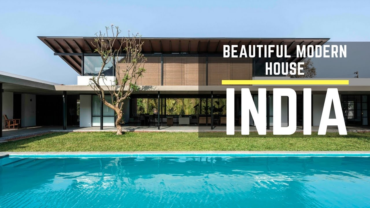 Beautiful modern house in india 1