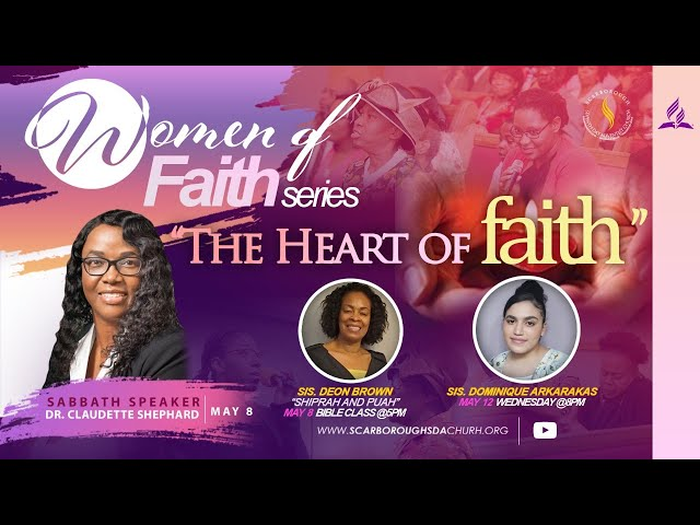 Sabbath Service || May 8, 2021 | Dr. Claudette Shephard