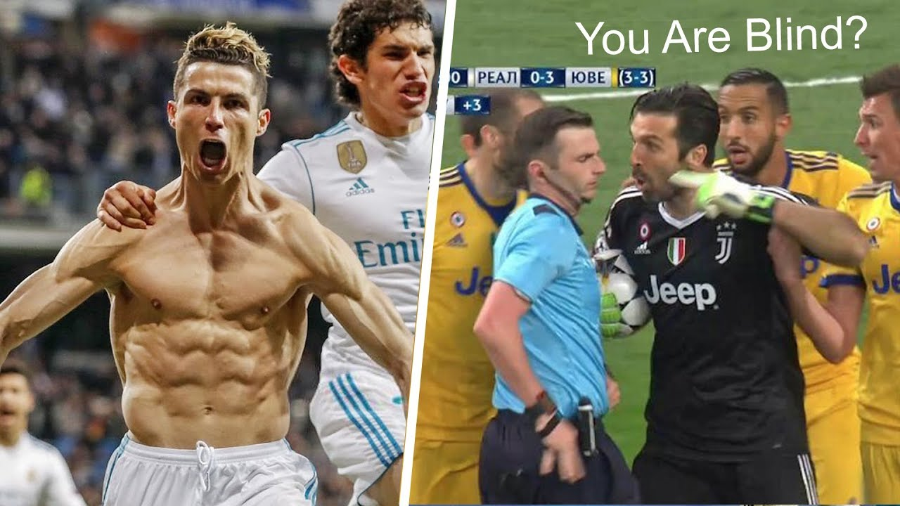 craziest-reactions-on-real-madrid-vs-juventus-1-3-ronaldo-goal-buffon-red-card-hd