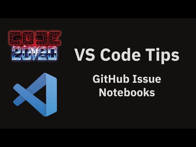 GitHub Issue Notebooks