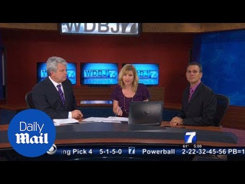 WDBJ7 Holds Moment Of Silence For Colleagues Who Were Killed - Daily Mail