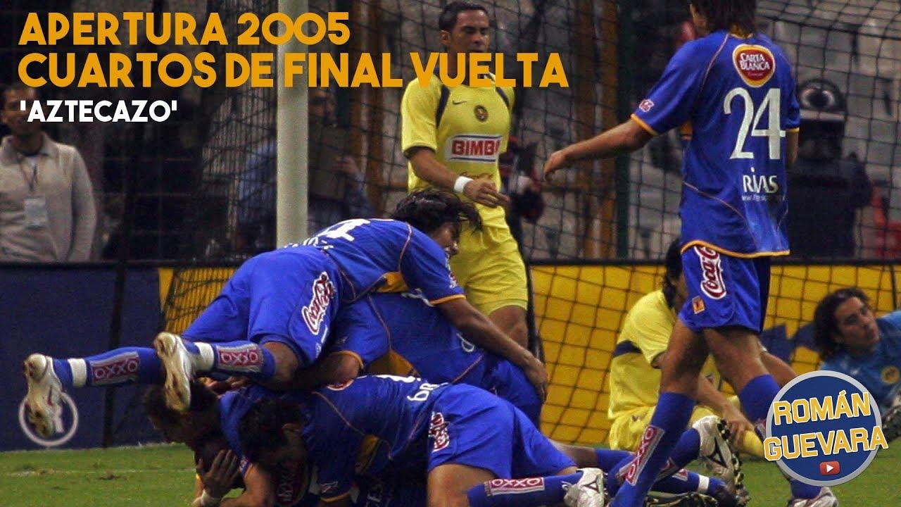 Aztecazo América Vs Tigres 1 4 Cuartos De Final Vuelta