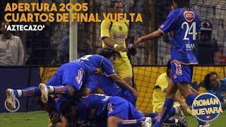 ¡aztecazo !américa Vs Tigres 1-4 Cuartos De Final Vuelta Apertura 2005 Liga Mx