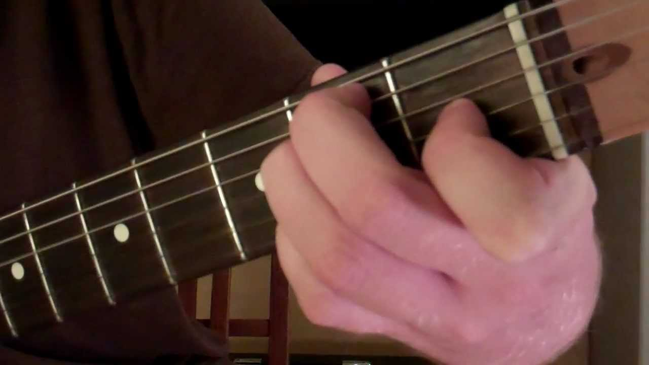 How To Play The E6 Chord On Guitar Youtube