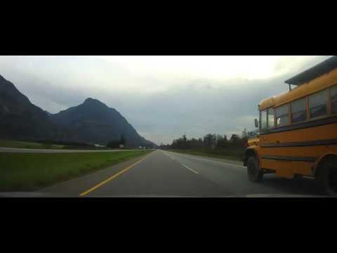 Driving on Trans-Canada Highway through the Rocky Mountains Part 7 (Hope-Vancouver)