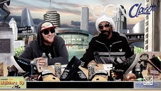 Mac Miller freestyle rapping with Snoop Dogg   GGN Classic