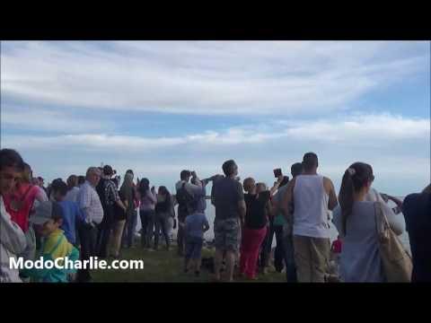 Debut de los Halcones de la FACh en Montevideo, Uruguay