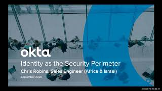 Identity as the Security Perimeter