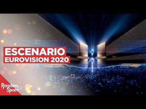 Escenario De Eurovision Rotterdam 2020