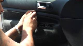 How to take the door panel off an 01 vw jetta