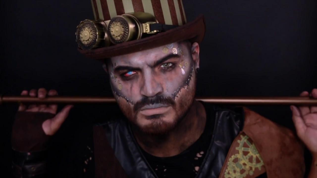 1e873eade78 Steampunk Makeup Tutorial - Spirit Halloween - YouTube