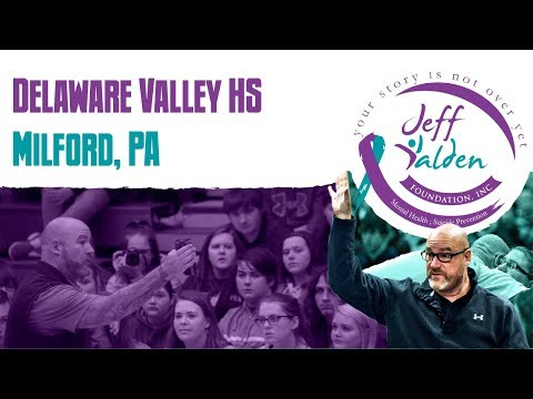 Jeff Yalden coming to Delaware Valley High School!