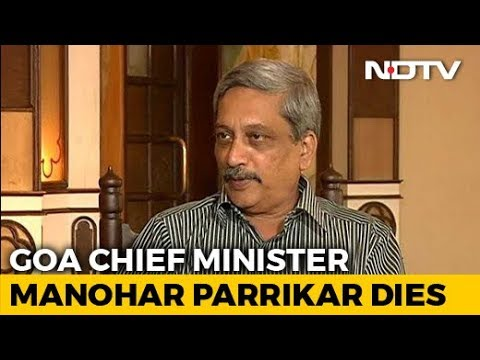 Goa Chief Minister Manohar Parrikar Dies After Long Battle With Cancer Mp3
