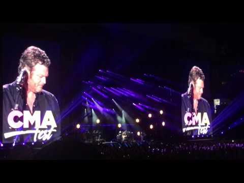 Blake Shelton - Austin - CMA Fest 2017