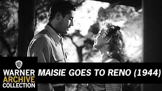 Maisie Goes to Reno (Original Theatrical Trailer)