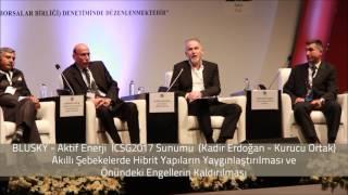 Aktif Enerji , BLUSKY Kadir Erdogan ICSG 2017 Konusma
