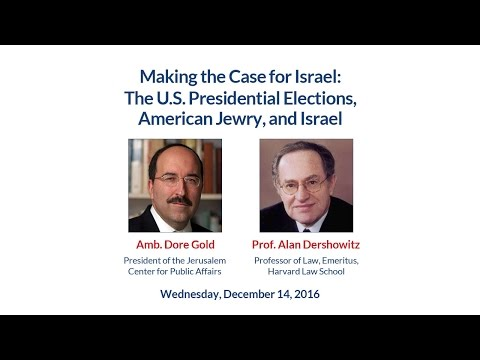 The U.S. Presidential Elections, American Jewry, and Israel