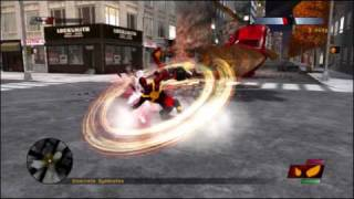 ASUS G51VX-RX05 Notebook Spider-Man Web of Shadows Iron Spidey Gameplay (GTX 260M)