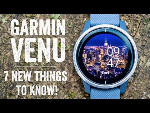 Garmin Venu Review // 7 New Things To Know!