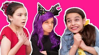 MALICE'S BIRTHDAY PARTY  🎉Princesses surprise birthday girl! - Princesses In Real Life | Kiddyzuzaa