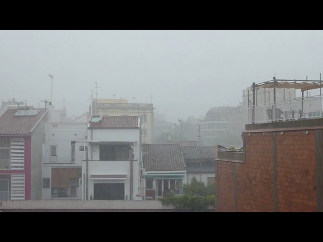 Tempesta a Badalona - Juny 2016