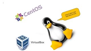 Linux Tutorial: How To Add and Configure A New Hard Drive? (Redhat 7) (VirtualBox)