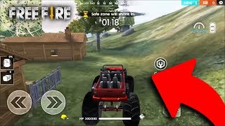 MANEJANDO LA MONSTER TRUCK en FREE FIRE
