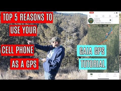 Top 5 Reasons You Should Use Your Cell Phone GPS for Hunting