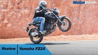 2017 Yamaha FZ25 Review - Better Than Pulsar 200 NS? | MotorBeam